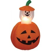 Six Foot Animated Halloween Inflatable Pumpkin + G