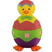 Four Foot Easter Inflatable Chick and Egg