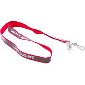 Lanyard-Reflective - Red
