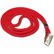 Lanyard w/Clip-Red