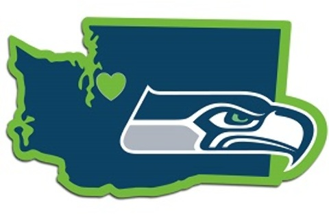 Seattle Seahawks Home State DECAL (2183553)