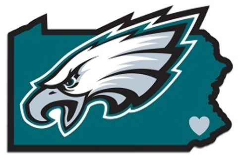 Philadelphia Eagles Home State DECAL [2183512]