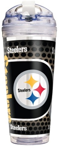 Pittsburgh STEELERS 24 Oz. Acrylic Tumbler with Straw (2183522)