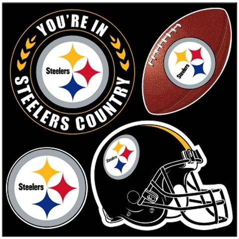 Pittsburgh STEELERS 4 Piece Magnet Set (2183524)