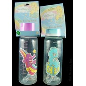 Baby Bottle 8 Oz- Care Bears Assorted Colors