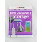 Hardcover Quick Fix- Home Organization