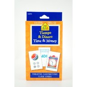 Flash Cards 49 Pack- Time And Money (Bilingual)