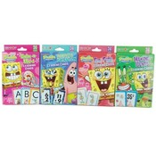 Learning Cards 36 Count Assortment - Sponge Bob