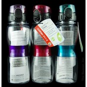 Hydration Bottle 17 Oz - Home Presence Assortment Wholesale Bulk