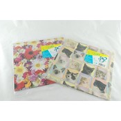 Gift Flat Wrap 2 Sheets- All Occasion Wholesale Bulk