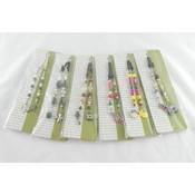 Bead Book Markers Assorted Colors