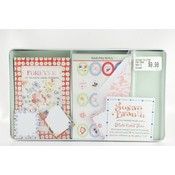 Note Card Tin 40 Pack Friend- Susan Branch Wholesale Bulk