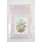 Note Card Set 10 Pack- Wedding Blossoms Wholesale Bulk