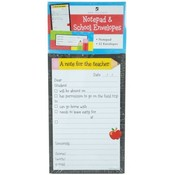 Notepad 4.25 X 6.75 With 12 Envelopes- School Wholesale Bulk