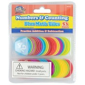 Number And Counting Learning Tiles 53 Pack