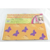 "Locker Wallpaper 9x12"" 3 Pack- Butterfly Bilingual"