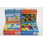 Puzzles 63 Piece 9 X 6&quot;- Assorted Styles