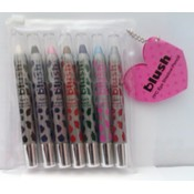 b159- 7 pc chubby lip liner(cheetah)