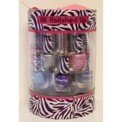 S193- 10 pc nail polish in cylinder