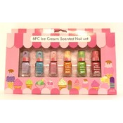 a378- 6 pc scented nail polish set