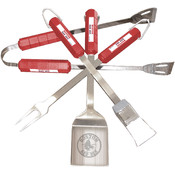 Boston Red Sox 4 Pc Bbq Set