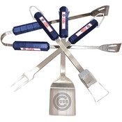 Chicago Cubs 4 Pc Bbq Set
