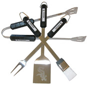 Chicago White Sox 4 Pc Bbq Set