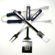 Detroit Tigers 4 Pc Bbq Set