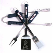 Los Angeles Angels 4 Pc Bbq Set