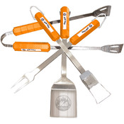 New York Mets 4 Pc Bbq Set