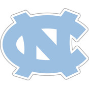 "North Carolina Tar Heels-12"" Vinyl Magnet"