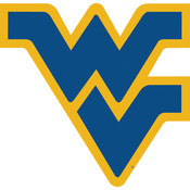 "West Virginia Mountaineers-12"" Vinyl Magnet"