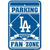 Los Angeles Dodgers Plastic Parking Sign