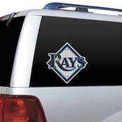 Tampa Bay Rays Diecut Window Film
