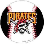 "Pittsburgh Pirates 12"" Vinyl Magnet"