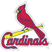 St. Louis Cardinals 12&quot; Vinyl Magnet