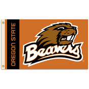 Oregon State Beavers-2-Sided 3' x 5' Flag w/Grommets