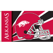 Arkansas Razorbacks-3 Ft. X 5 Ft. Flag W/Grommets - Helmet Design