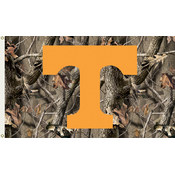 Tennessee Volunteers-3 Ft. X 5 Ft. Flag W/Grommets - Realtree Camo Background