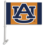 Auburn Tigers-Car Flag W/Wall Brackett