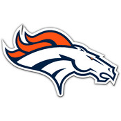 "Denver Broncos - 12"" Vinyl Magnets"