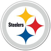 "Pittsburgh Steelers - 12"" Vinyl Car Magnets"