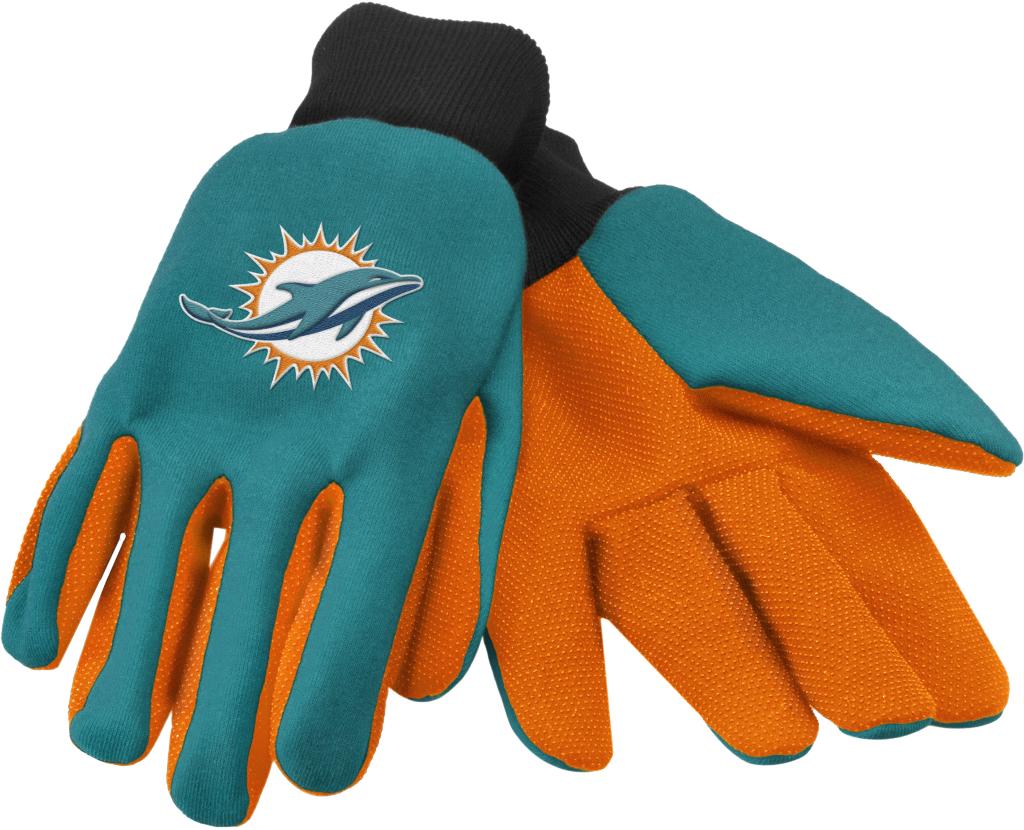 Miami Dolphins Work / Utility Gloves [1931620]