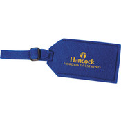 The Jubilee Felt Luggage Tag in Royal Blue Wholesale Bulk