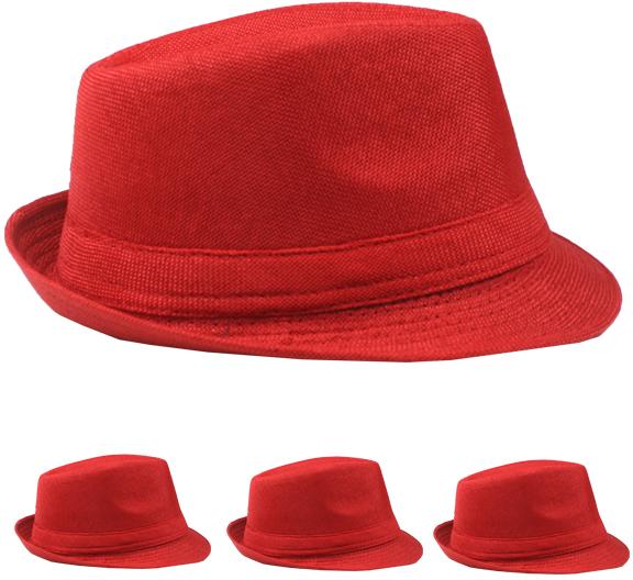 Red Fedora Hat [1989013]