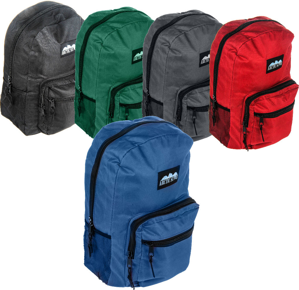 ''17'''' Backpack with LAPTOP Pocket - Assorted Colors [1989665]''