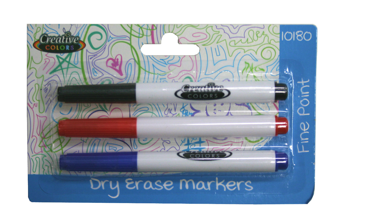 Creative Colors Dry Erase Markers 3ct [1940474]