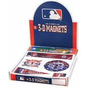 Texas Rangers 24pc 5-Magnet Sets Counter Display