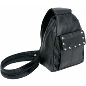 Genuine Solid Leather Biker Purse