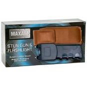 Maxam Stungun W/ Light & Leather Sheath